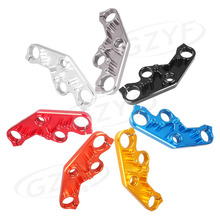 Front Fork Lowering Triple Tree Upper Top Clamp Yoke for Yamaha YZF R3 R25 2014 2015 2016 Black Blue Gold Grey Red Silver