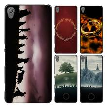 LORD OF THE RINGS Style Case Cover for Sony Ericsson Xperia X XZ XA XA1 M4 Aqua E4 E5 C4 C5 Z1 Z2 Z3 Z4 Z5(China)