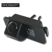 SINOSMART In Stock HD High Quality Car Parking Reversing Camera for Ford Focus Hatchback FIESTA Hatchback Sedan Mondeo CHIA-X(China)