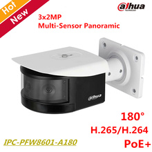 Buy Dahua HD 180 Degree Panoramic IP Camera 3x2MP Panoramic IR Night Vision Bullet Camera IR30m Support POE+ IPC-PFW8601-A180 for $584.04 in AliExpress store