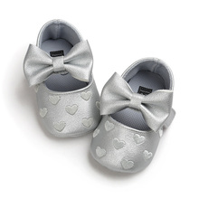 Embroidered baby shoes 0-1 year old soft soles for shoes with soft soles for toddlers
