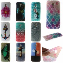 HIGH Quality for Motorola Moto G2 phone Case Fashion 100% Plastic TPU 5.0 Animal  phones cheap for Motorola Moto G2 Case Cover