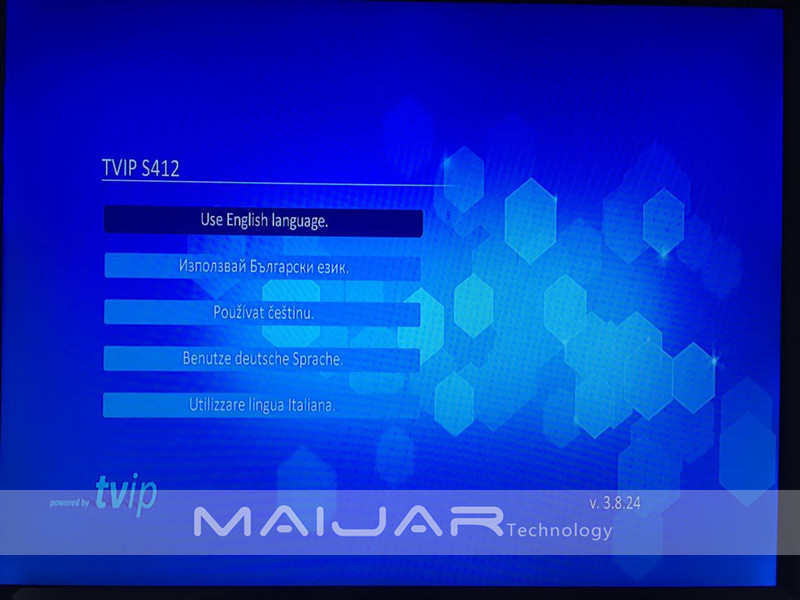 iptv box tvip412 menu 00