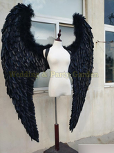 black or white angel wing props catwalk show props festival Angel Feather wings underwear catwalk