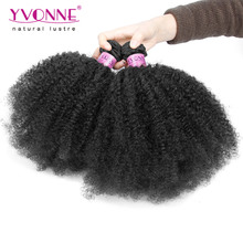 New Arrival Afro Kinky Curly Hair,2Pcs/lot Unprocessed Brazilian Virgin Hair,8-28 inches Aliexpress Yvonne Hair Products
