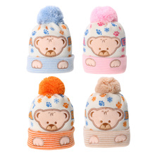 baby caps Kids Winter for newborns Cap Soft Beanie Bonnet For Boys Girls Photo Props children's hats Baby Clothing Knitted Cap(China)