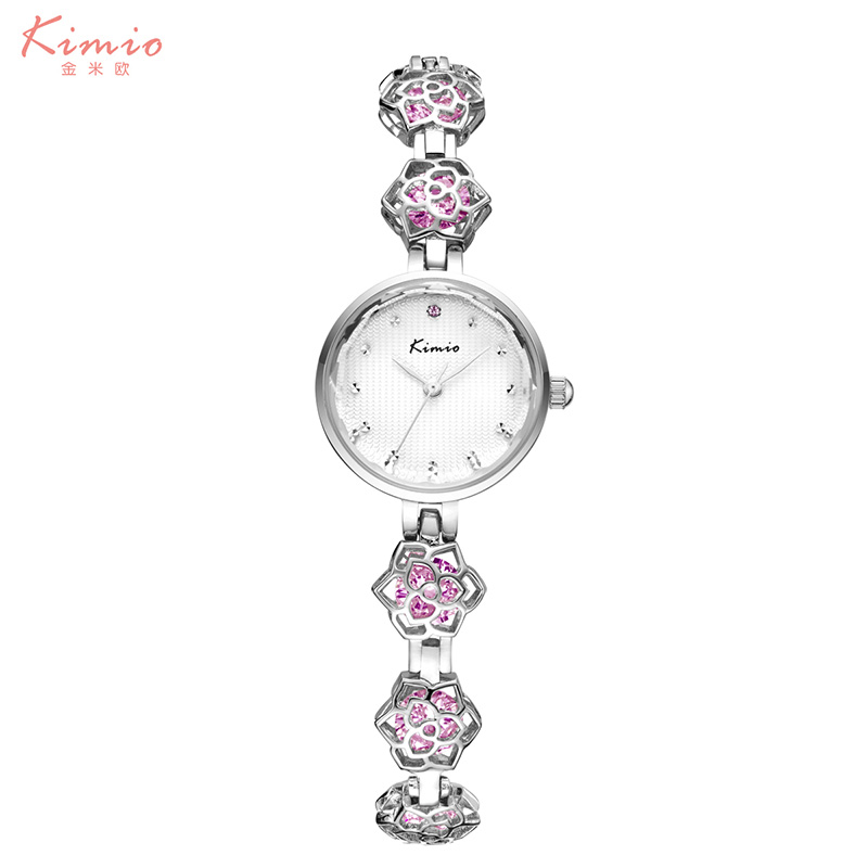 2017 New Kimio Womens Watches Brand Luxury Fashion Ladies Watch Waterproof Jewel Bracelet Strap Colorful diamond Quartz Watch<br><br>Aliexpress