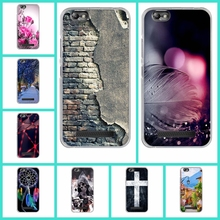 For Lenovo Vibe C A2020 Back Cover Case High Quality Soft TPU Back Design Case for Lenovo A 2020 Phone Bags Silicone Skin
