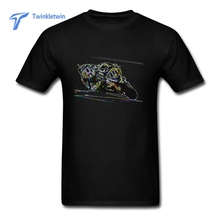 2017 Hot Sale Fashion VR 46 T-shirt Design Male Short Sleeve Rossi T Shirt Guys Personalized Hipster Tee Shirts Men Tshirt(China)
