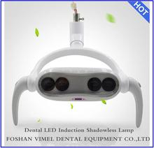 LED shadowless operating lamp 4 lamps light with arms For Dental Unit operation lamp oral light(China)