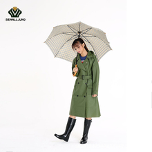 SENNLLJUNG Promotion Impermeable Raincoat Women EVA Waterproof Trench Coat Hiking Rain Coat Detachable Hooded Poncho Rainwear