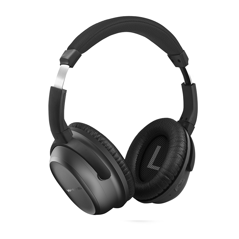 W-King Hot Selling Great Price Headphone Wireless Headphone Active Noise Cancelling Bluetooth Headphones Over-Ear Game Headset