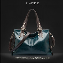 100%Genuine Leather Handbag2017 women natural leather handbag leather clutch new fashion women shoulder bags women messenger bag(China)
