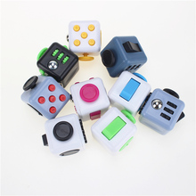 Buy 10 Style Mini Fidget Cube Toy Vinyl Desk Finger Toys Squeeze Fun Stress Reliever 3.3cm High Antistress Cubo one Piece for $2.15 in AliExpress store