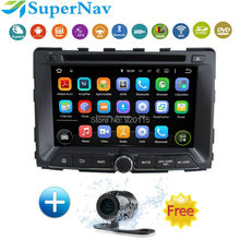 "Quad Core 7""1024*600 Android 5.1.1 Touch Screen Car Stereo for Ssang Yong Rodius with Radio DVD GPS Navigation Wifi Free map"