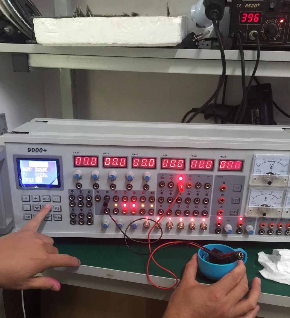 Injector test