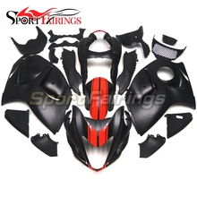 Fairings For Suzuki GSXR 1300 Hayabusa 08 09 10 11 12 13 14 2008 2014 Plastics ABS Motorcycle Fairing Kits Bodywork Black Red