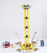 Lepin 02069 Large Site Construction Building Blocks Toy City Series The Building Crane Set Bricks Toys Children Gift 7905