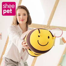 Sheepet 60cm Big Size Lovely Bees Toys Plush Doll Best Gift For Kids Drop Shipping(China)