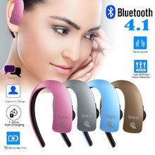 HOCO E10 Touchable Business Sports Wireless Bluetooth V4.1 Earphone with Mic for IPhone 7 Samsung S7 Streamline Hanging Ear