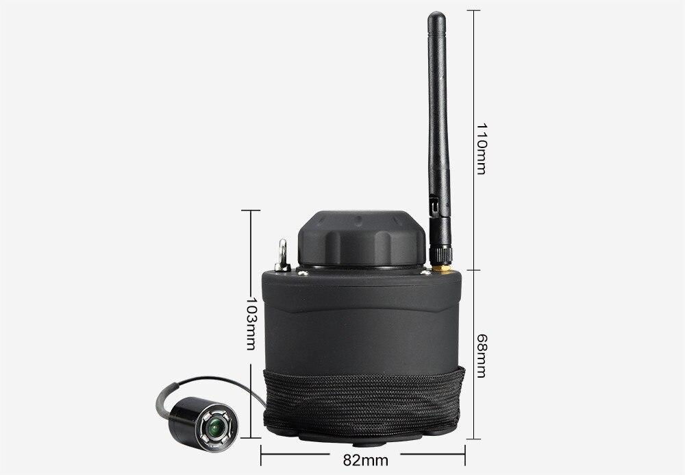 LUCKY Wifi Underwater Fishing Camera & Inspection 80m Wireless Operating Range Underwater Camera For Fishing FF3309 fishcam (5)