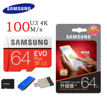 SAMSUNG Micro SD Card 128GB 64gb 32gb 256gb 100Mb/s Class10 U3 Microsd Memory Card Flash TF Card for Phone with Mini SDHC SDXC