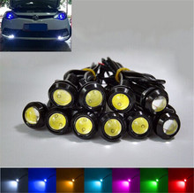 10PCS 9W LED 18MM DC12V Eagle Eye Light Car Fog DRL Daytime Work Driving Reverse Backup Parking Signal Light Lamp Free Shipping