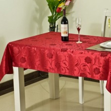 Square Printing Tablecloth Table Linen Decoration Glitter Polyester Table Cloth Sparkle Linen 3 Colors for Choose