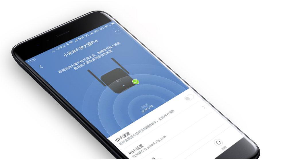 Original Xiaomi Pro 300M WiFi Router Amplifier Repeater Signal Cover Extender Roteador 2 Wireless Router Repetidor Mi repeater (7)