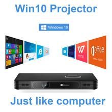 DLP 4K Projector 1080P Wireless Projector Windows 10 System Dual WIFI Full HD Projector Home Cinema Mini Portable Proyector