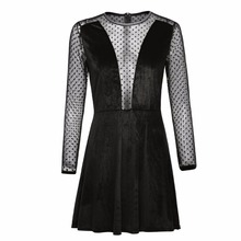 Buy Summer Lace Sexy Dresses Women Clothing Casual Mesh Dress Sexy Female Party Beach Patchwork Dress for $9.66 in AliExpress store