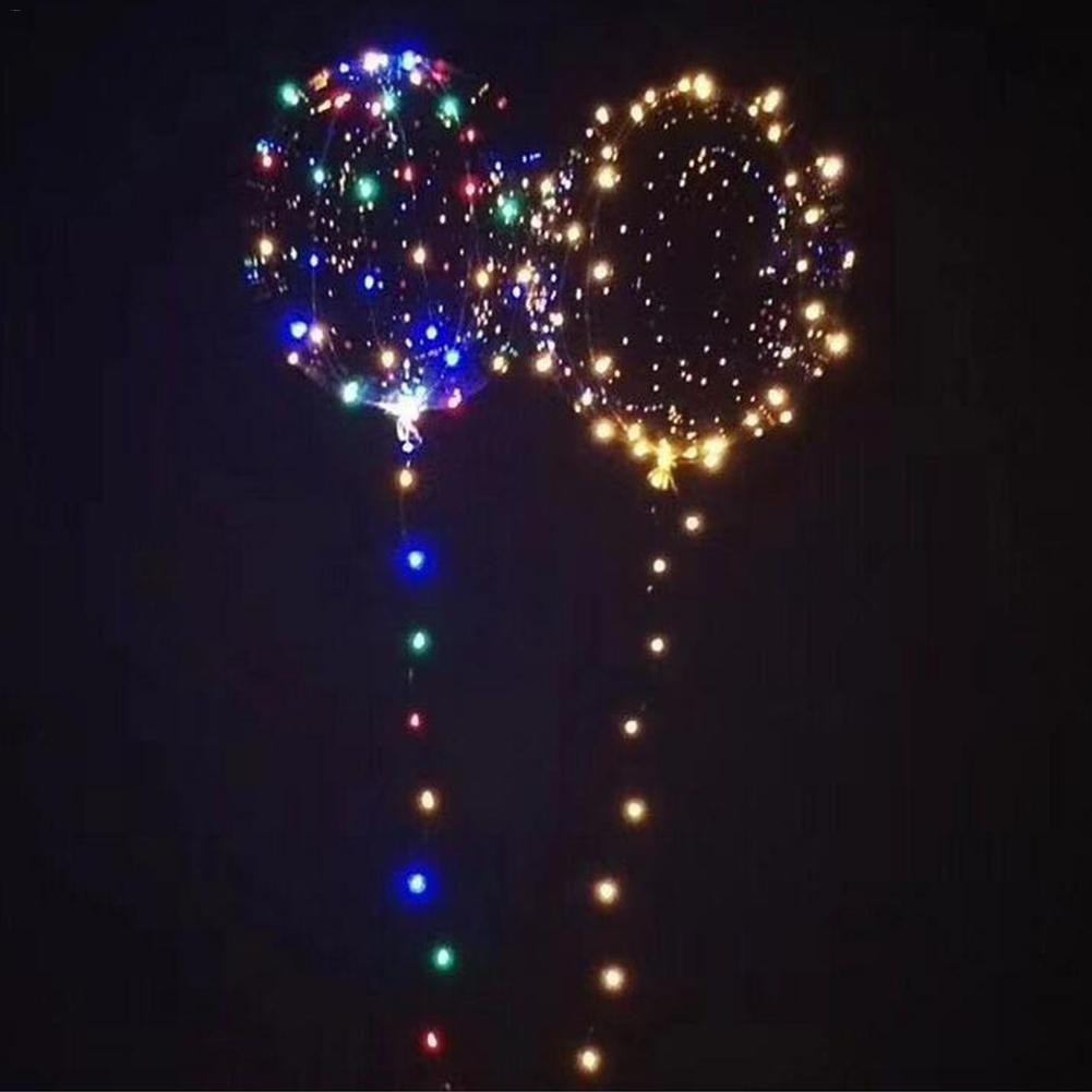 Globos de helio 10 piezas Globo de helio Globo luminoso de gas Decoraci/ón del hogar blanco para la fiesta Boda Fiesta de Navidad Decoraci/ón