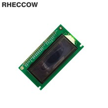 RHECCOW 5v 12232 122x32 Dots Matrix LCD Module with Blue LED Backlight White character LCM Serial port / parallel port(China)
