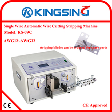 Factory Outlet Automatic Wire Cutting and Stripping Machine KS-09C + Free Shipping by DHL air express (door to door service)