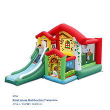 2017 New Inflatable kid jump slide inflatable bouncer inflating trampoline inflated castle Bouncer home use Air Bounce House