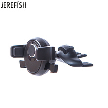 JEREFISH CD Slot Car Phone Holder Car Air Vent Phone Holder Universal Car Mount Holder for iPhone 6 7 360 Rotation Phone Stand(China)