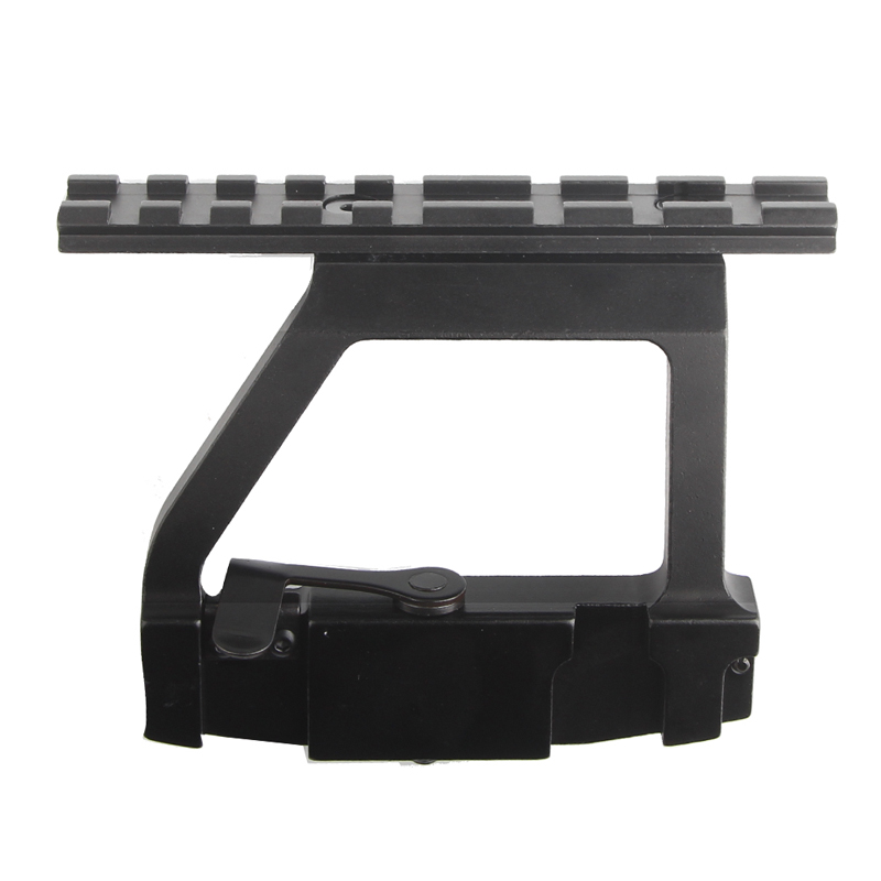 AK Mount 47 74 SVD Side Rail QD Scope Sight Torch Attachment 20mm Airsoft RL2-0022-03
