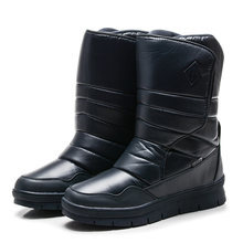 GOGC Men Shoes Winter 눈 Men Boots Warm 겨울 캐주얼 Soft 남성 Shoes 2018 Fashion New Arrival Plus Size 41 -46 (High) 저 (top boots(China)
