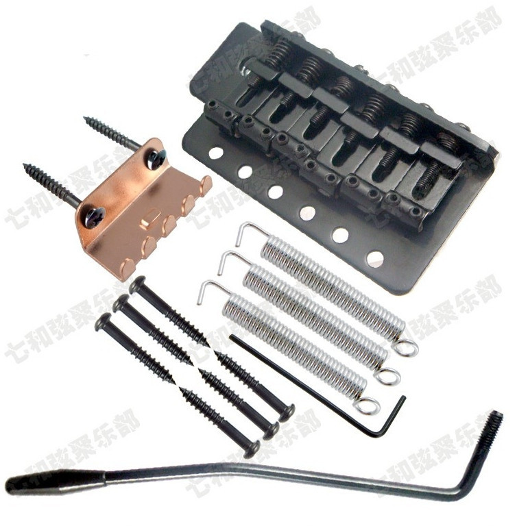 Guitar 6 Strings Vintage Saddle Guitar Tremolo Bridge System with Guitar Parts for Electric Guitar accessories<br><br>Aliexpress