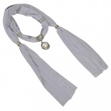 Womens Details about  New fashion pendant scarf necklace with Pearl jewelry charm