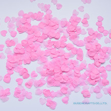 1500pcs/Pack DIY process Heart Shaped paper environmental protection flower petals Wedding Party Decor Scatter Confetti(China)