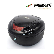 PEDA e Bike box Electric Scooter Trunk Motorcycle Top Case ABS One Helmet Hard Tail Box Luggage case Baul Motocicleta Bauletto