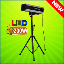 The Latest High Quality 200W LED Track Light Led Follow Spot Beam Light Professional Stage Lighting For DJ Wedding And Event(China)