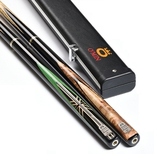 O`MIN Evolution Handmade 3/4 Jointed Snooker Cues Sticks  10mm Tips pool cue Nine-ball  billiards stick high quality wood made