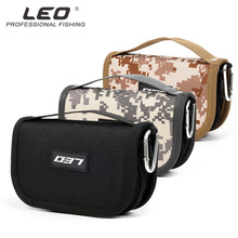 Leo Fishing Bag Oxford Cloth with Eva Liner Lure Fishing Tackle Accessories Storage Bag Fishing Lines Lures Spinner Fishhook(China)