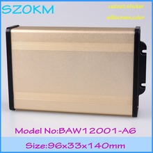 small szomk  aluminum case power supply project box pcb outlet boxes  electronic control metal aluminum enclosures