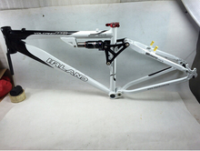 new come taiwan IRLAND DH down hill MTB frame Monarch RT3 rear damper/suspension frame 26*17""