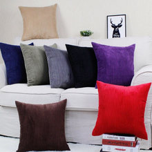 Good quality soft Chenille big cushion pillow colorful cushion Red/Green/white/brown/gray/orange 40*40cm, 45*45, 50*50cm,60*60cm