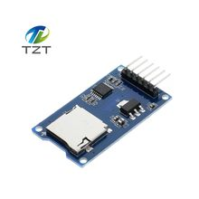 1pcs/lot Micro SD card mini TF card reader module SPI interfaces with level converter chip for arduino