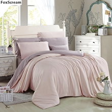100% Tencel luxury duvet cover king size bedding set queen size flower duvets blue floral bedding sets embroidered quilts